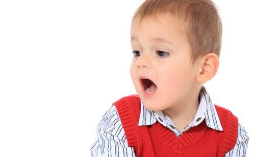 Toddler speaking